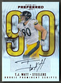 2017 Panini Preferred T.J. Watt