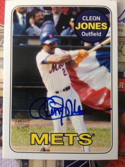 2012 Topps Archives Cleon Jones