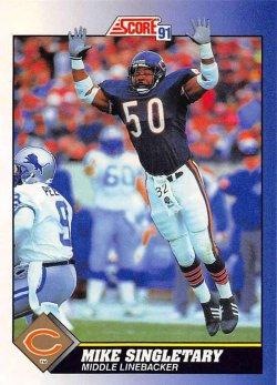 1991  Score Mike Singletary