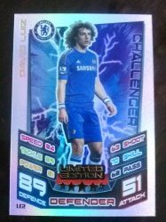 2012 Topps Match Attax Limited Edition #2 David Luiz