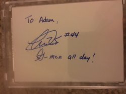 Andre Williams Personalized Auto