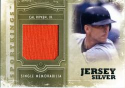 2012  Sportkings Silver Jersey Cal Ripken Jr.