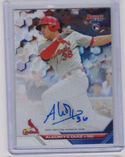 2016 Bowman bowmans best of auto aledmys diaz
