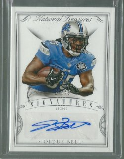 2015 Panini National Treasures Joique Bell