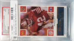 1988   McDonalds  Ronnie Lott - - Blue
