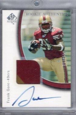 2005 Upper Deck SP Authentic Frank Gore