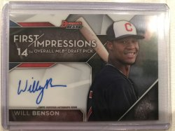 2017 Bowman Bowmans Best First Impressions Will Benson