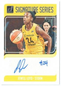 2019 Donruss WNBA Signature Series Jewll Loyd