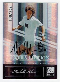 2007 Donruss Elite Extra Edition Turn of the Century Michelle Akers