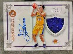 2016-17 Panini Excalibur Basketball Ivica Zubac Apprentice Signature Shield Relics