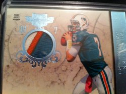 2011 Panini Plates and Patches Chad Henne /5