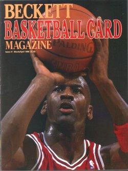 1990  Beckett Basketball Card Magazine Michael Jordan