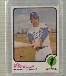 1973 Topps Base Lou Piniella