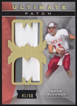 2013  Ultimate Collection Ultimate Patch Drew Bledsoe
