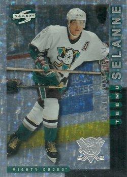 1997/98 Score Anaheim Mighty Ducks Platinum Team Selanne