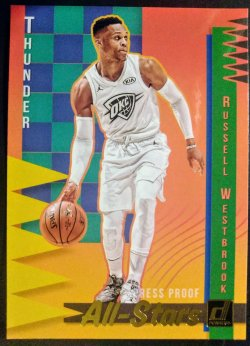 2018-19 Panini Donruss All Stars Russell Westbrook