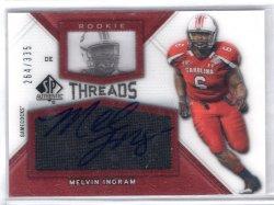 2012 Upper Deck SPA Threads Melvin Ingram