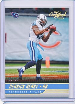 Derrick Henry 2017 Certified Cuts Gold /10