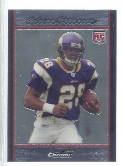 2007 Bowman Chrome  Adrian Peterson