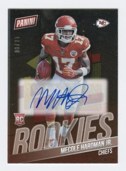 2019 Panini National Convention NFL Rookies #MH Mecole Hardman Jr/25