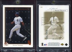 1998  SP Authentic Sheer Dominance Titanium Frank Thomas