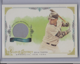 2014  Topps allen and ginter cano