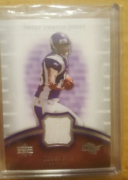 2007 Upper Deck Sweet Spot Sidney Rice