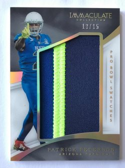 2017 Panini Immaculate  Pro Bowl Swatches Patrick Peterson /15