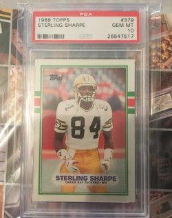 1989 Topps  Sterling Sharpe