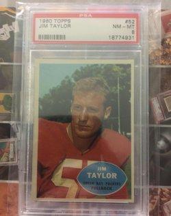 1960 Topps  Jim Taylor
