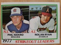 1978 Topps  Nolan Ryan / Phil Niekro