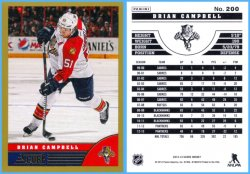 2013-14 Panini Score Gold Parallel Brian Campbell
