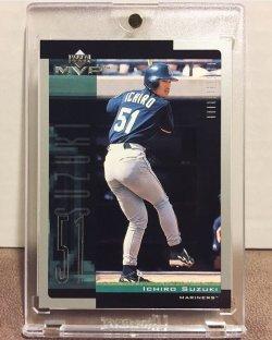 2001 Upper Deck MVP Ichiro Suzuki
