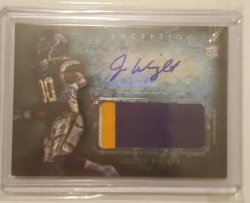 2012 Topps Inception Jarius Wright