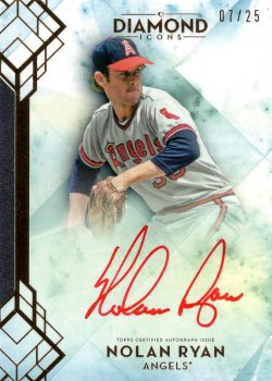 Nolan Ryan 2020 Topps Icons Signature Red Ink 07 of 25