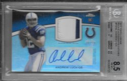 2012 Topps Chrome Rookie Autograph Patch - Andrew Luck