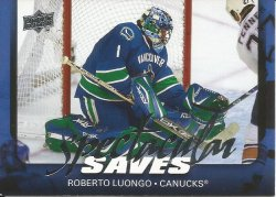 2008 Upper Deck Spectacular Saves Roberto Luongo
