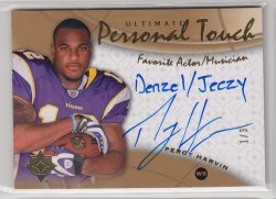 2009 Ultimate Collection Ultimate Percy Harvin Personal Touch Actor Musician/3 (DONT HAVE)