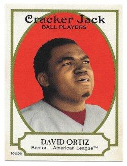 2005 Topps Topps Cracker Jack Mini Stickers David Ortiz (SP)