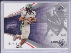 J.P. Losman 2004 SP Game Used Edition RC /425