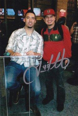 Travis Ishikawa Signed IP 4x6 Personal Photo