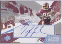 2003  SPx - Supreme Signatures Taylor Jacobs