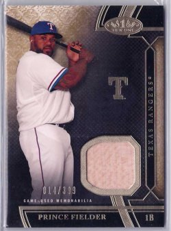2015 Topps Tier One Relic Prince Fielder