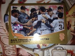 2013 Topps Series 1 San Francisco Giants