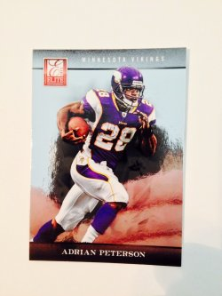 2012 Panini Elite Adrian Peterson