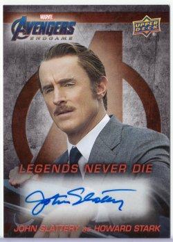 Avengers: Endgame JOHN SLATTERY (HOWARD STARK)