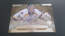 2013-14  Ultimate Collection Ultimate Signatures #US-RI Pekka Rinne