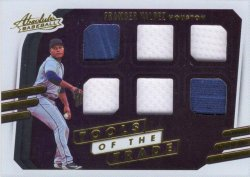 Framber Valdez 2021 Panini Absolute Tools of the Trade 6 Swatch