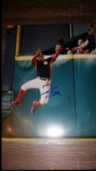 George Springer 8x10 Photo IP Autograph