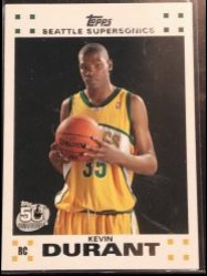 2007-08 Topps Topps Rookie Set #2 Kevin Durant